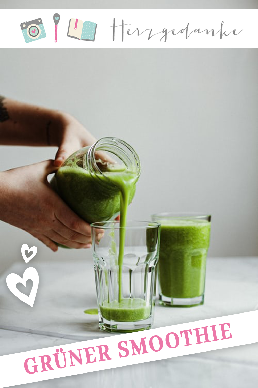 Grüner Smoothie aus dem Thermomix® - Photo by Alex Loup on Unsplash
