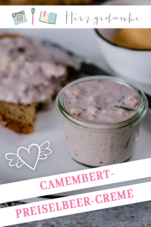 Camembert-Preiselbeer-Creme aus dem Thermomix®
