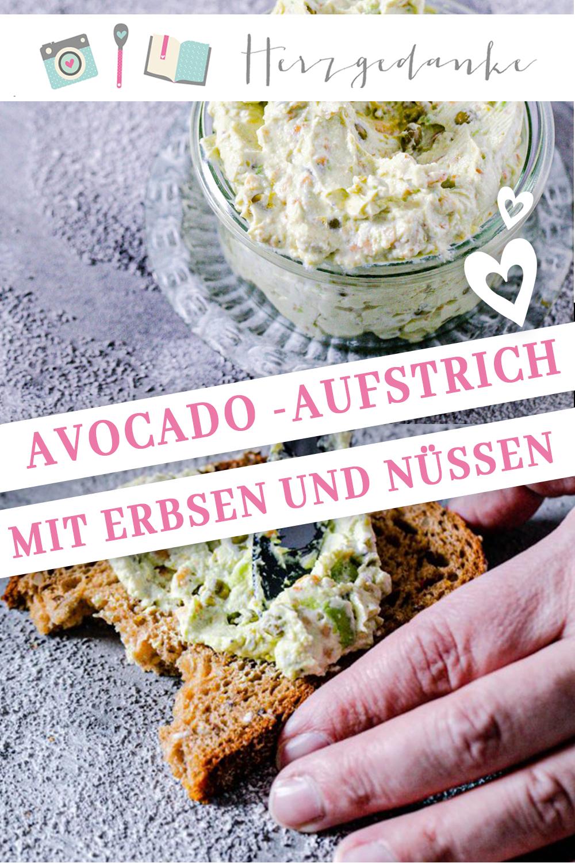 Avocado-Brotaufstrich mit Erbsen aus dem Thermomix®