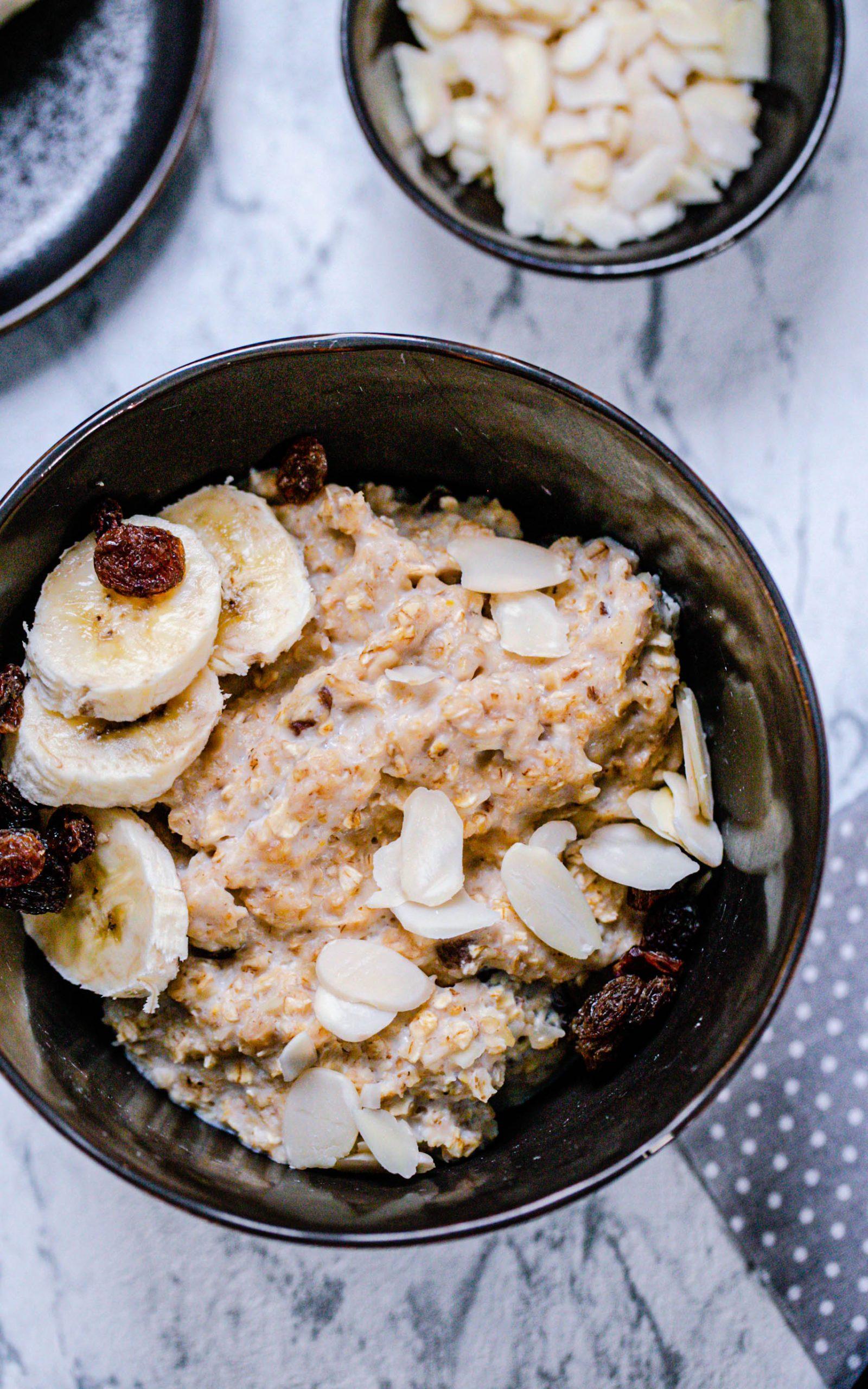 Porridge mit Mandeln aus dem Thermomix®