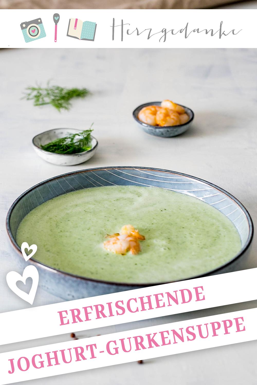 Erfrischende Joghurt-Gurken-Suppe aus dem Thermomix®
