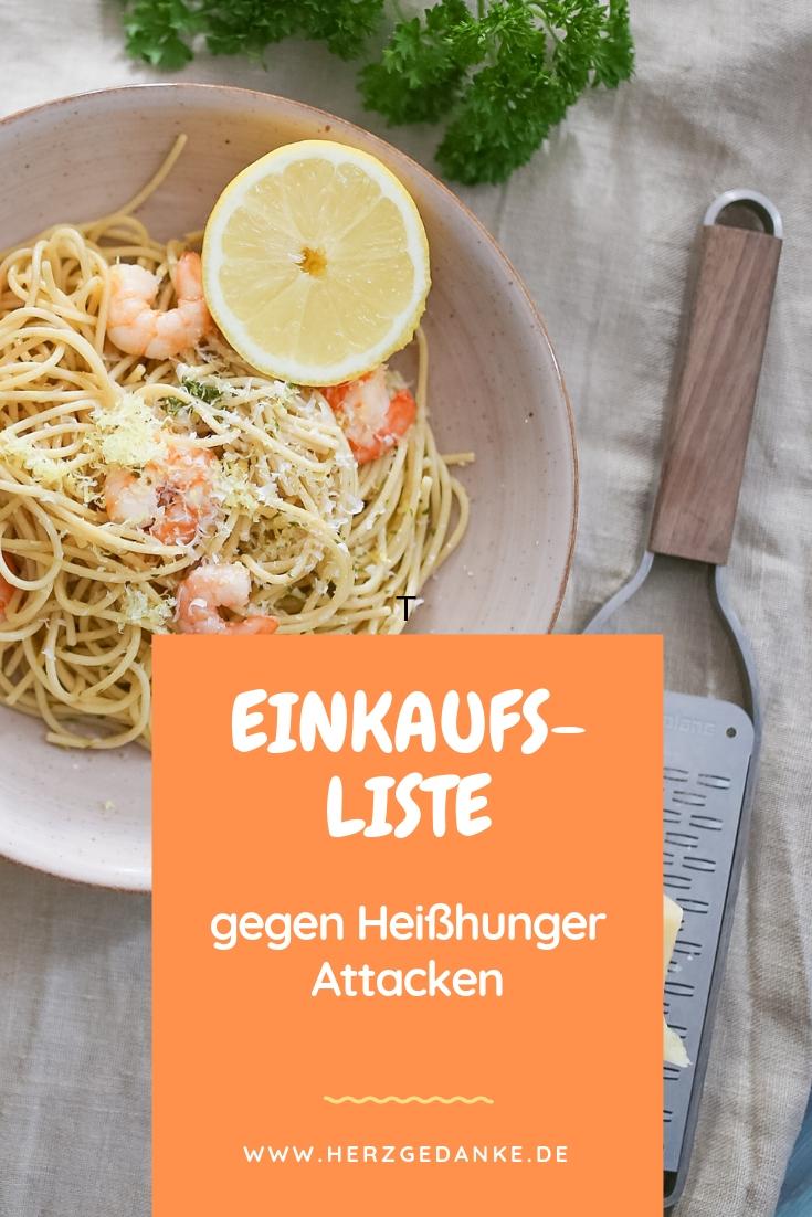Einkaufsliste für eine gesunde Ernährung