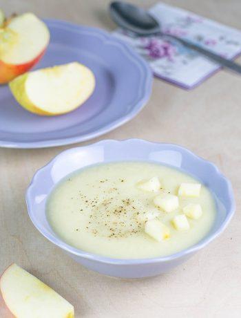 Blumenkohlsuppe mit Apfel aus dem Thermomix®