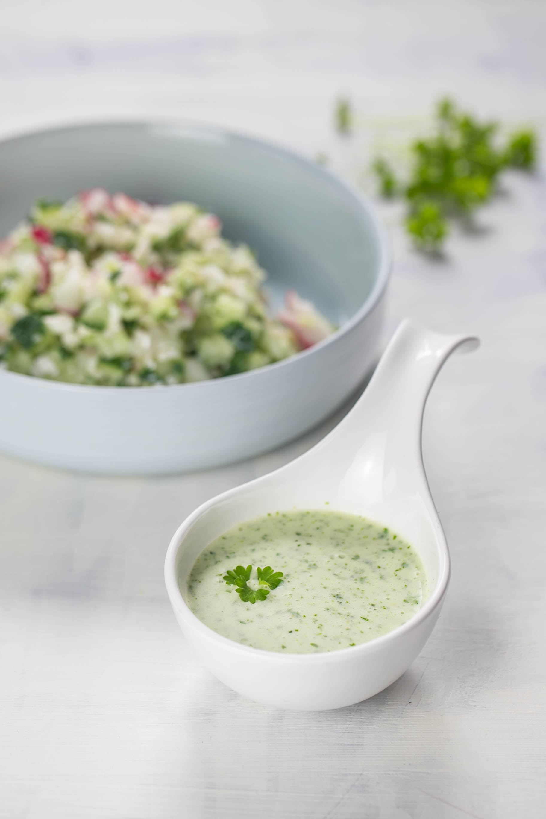 Buttermilch Dressing aus dem Thermomix®