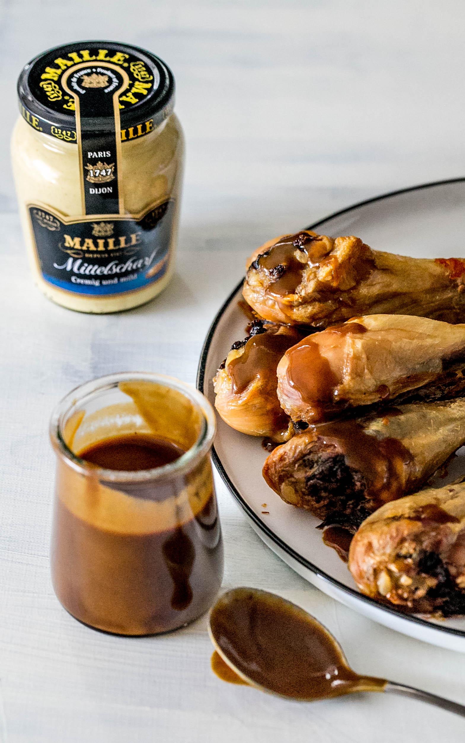 BBQ-Senf-Sauce