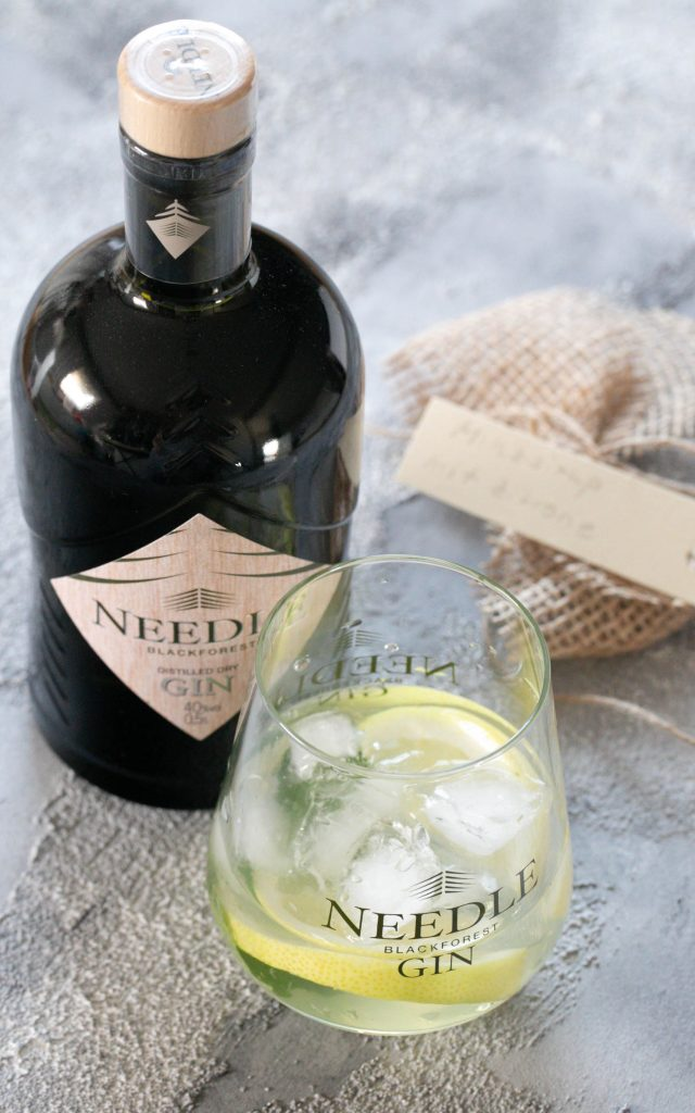 Minz Zitronen Gin – Needle Blackforest Gin