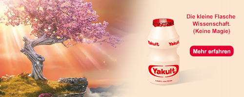 Mehr Informationen zu Yakult