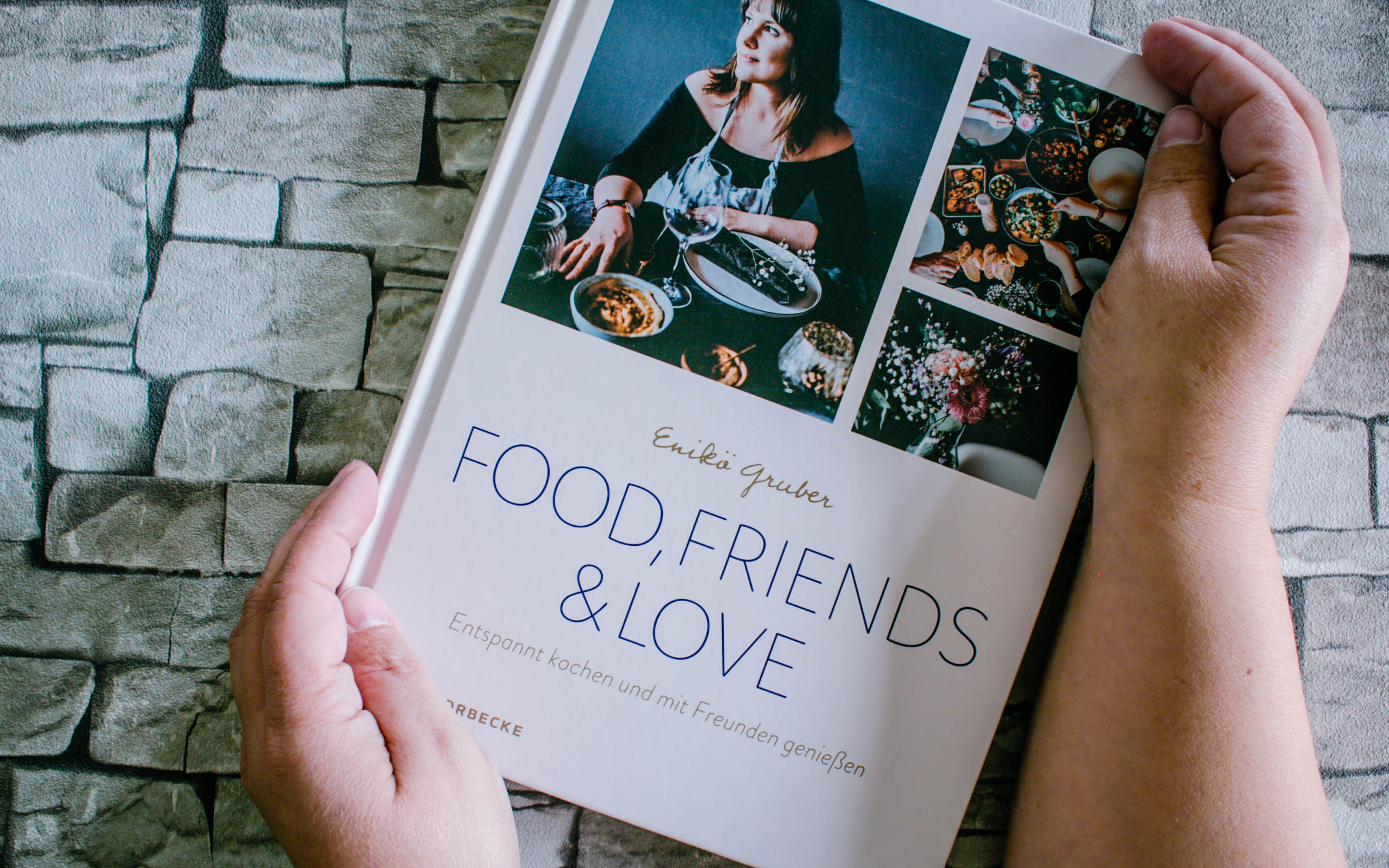 Enikö Gruber – Food, Friends & Love - Titel