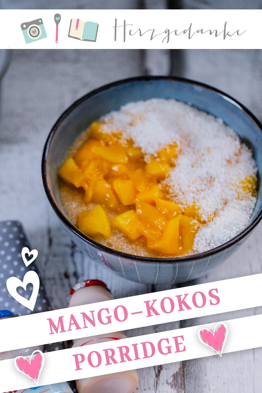 Mango-Kokos-Porridge aus dem Thermomix®