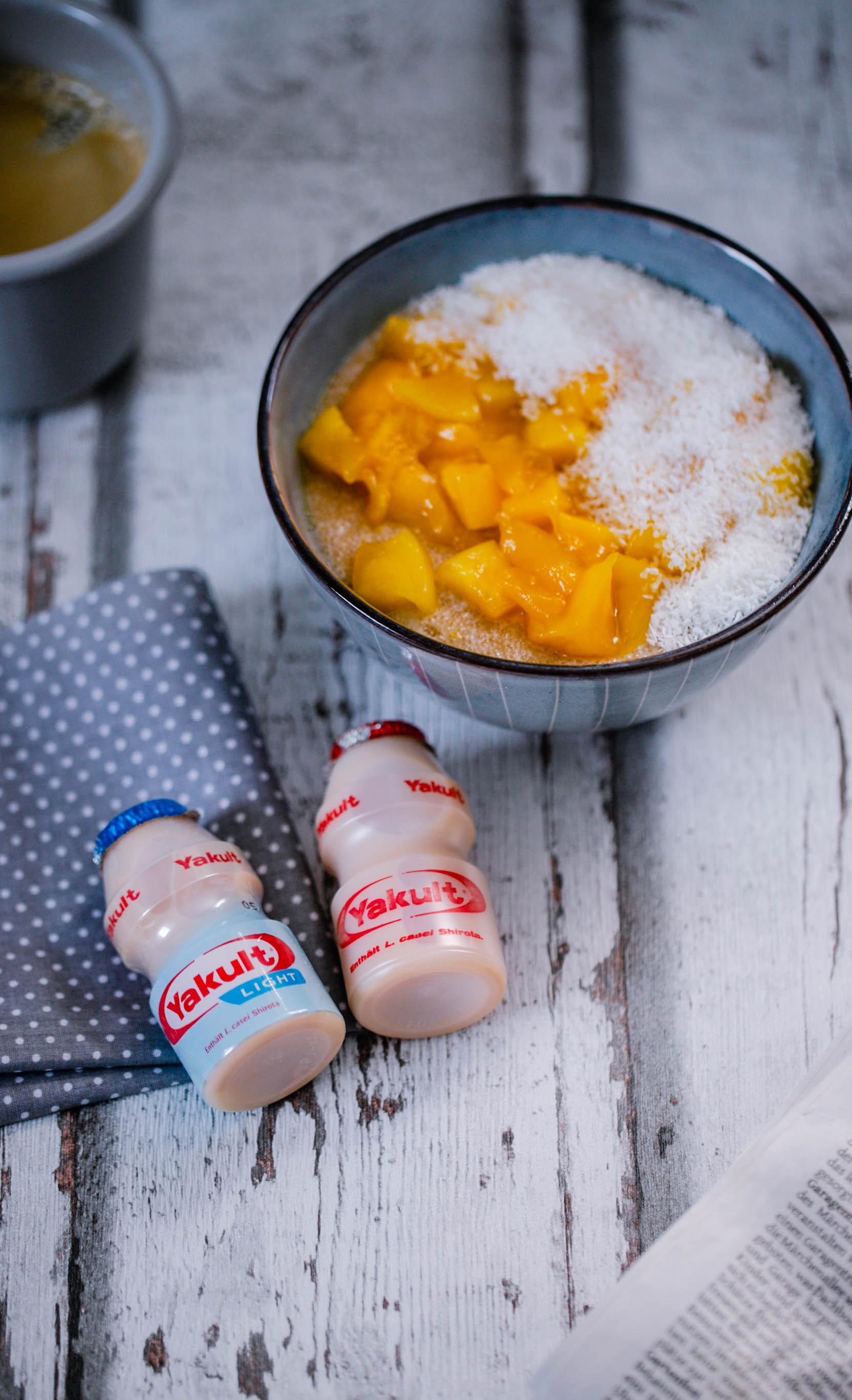 Mein Morgen mit Yakult und Porridge aus dem Thermomix®