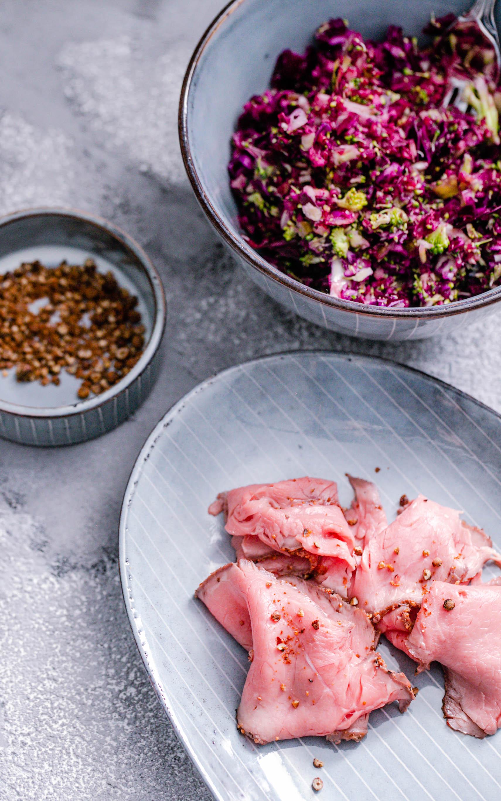 Rotkohlsalat aus dem Thermomix®