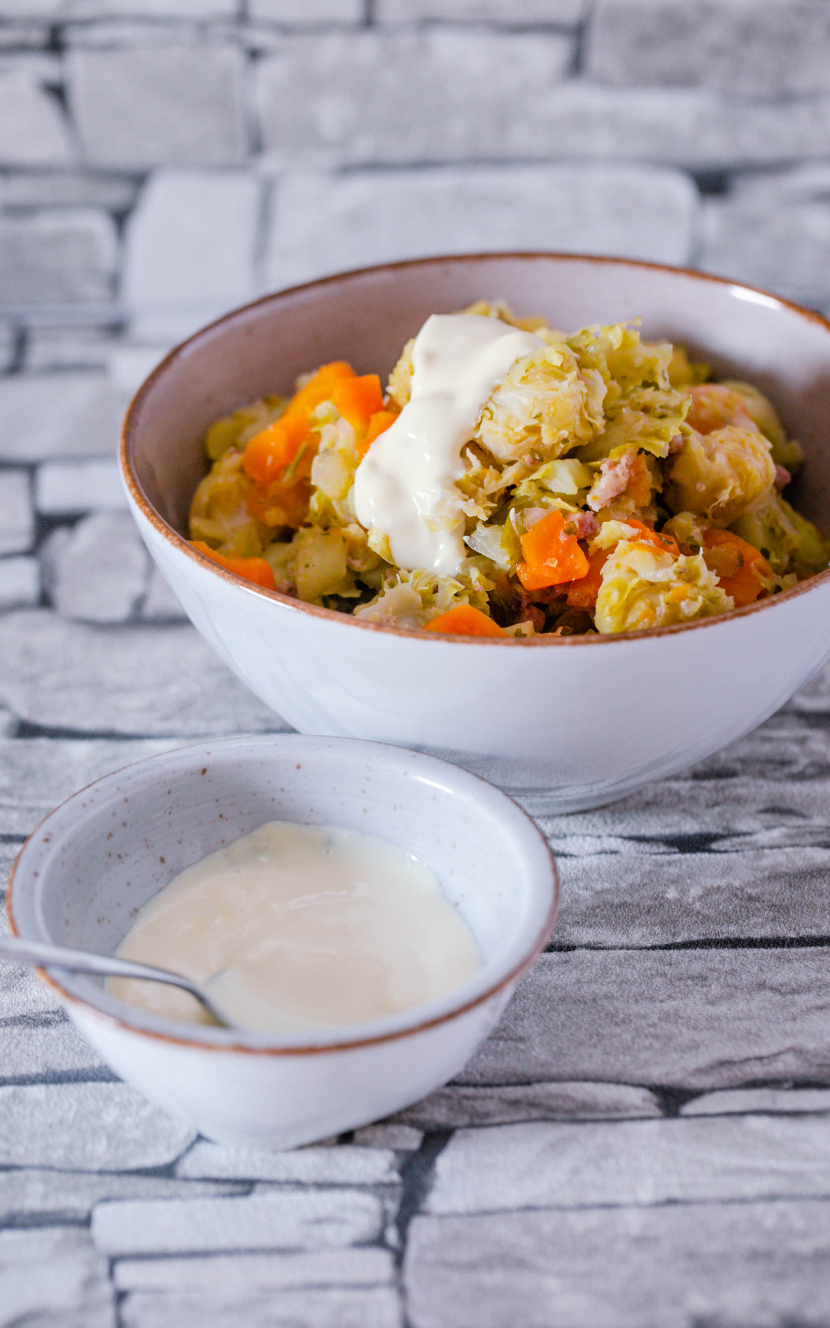 Kartoffeleintopf mit Senfcreme aus dem Thermomix®
