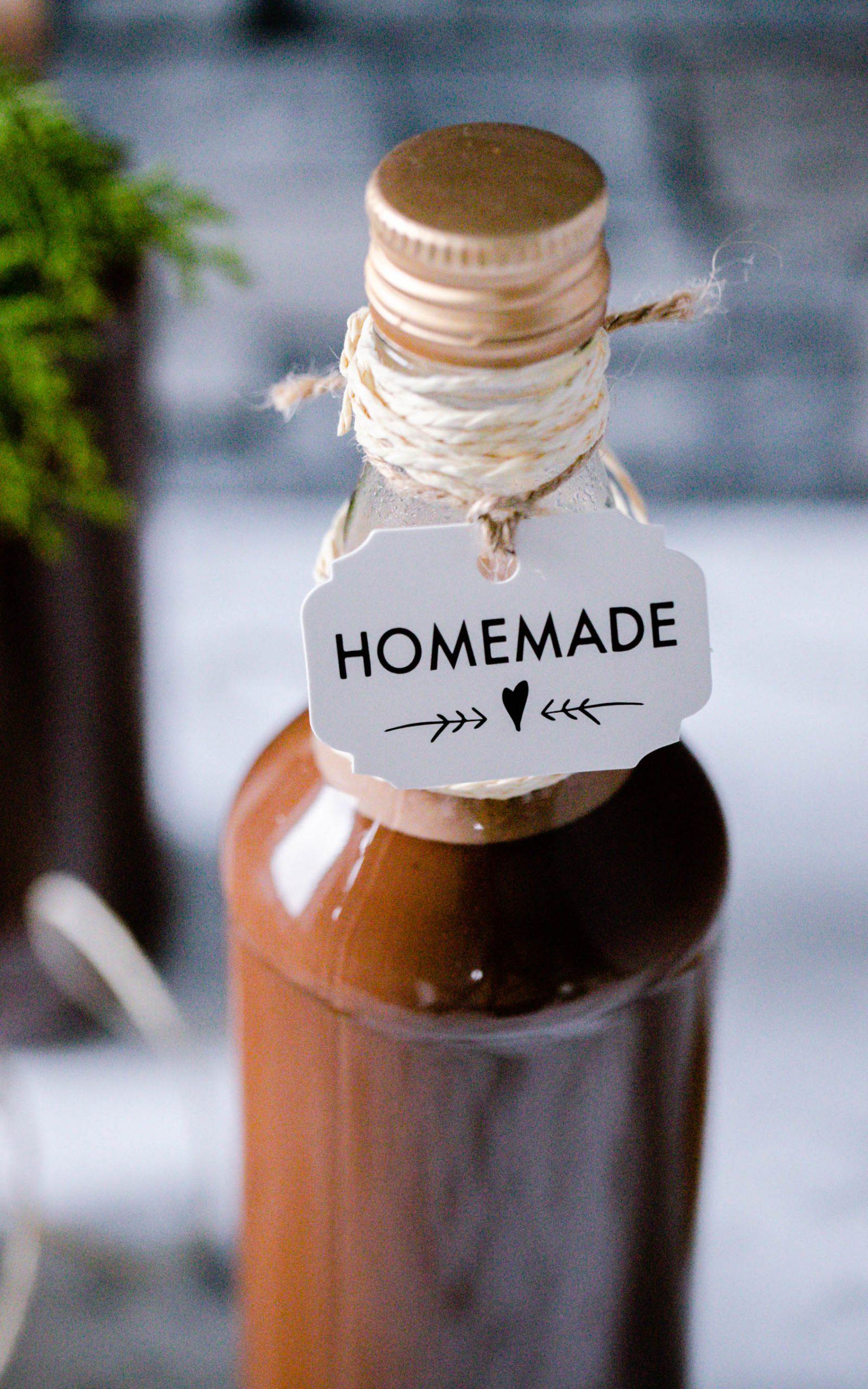 Cremiger Schokoladen-Kokos-Likör aus dem Thermomix®