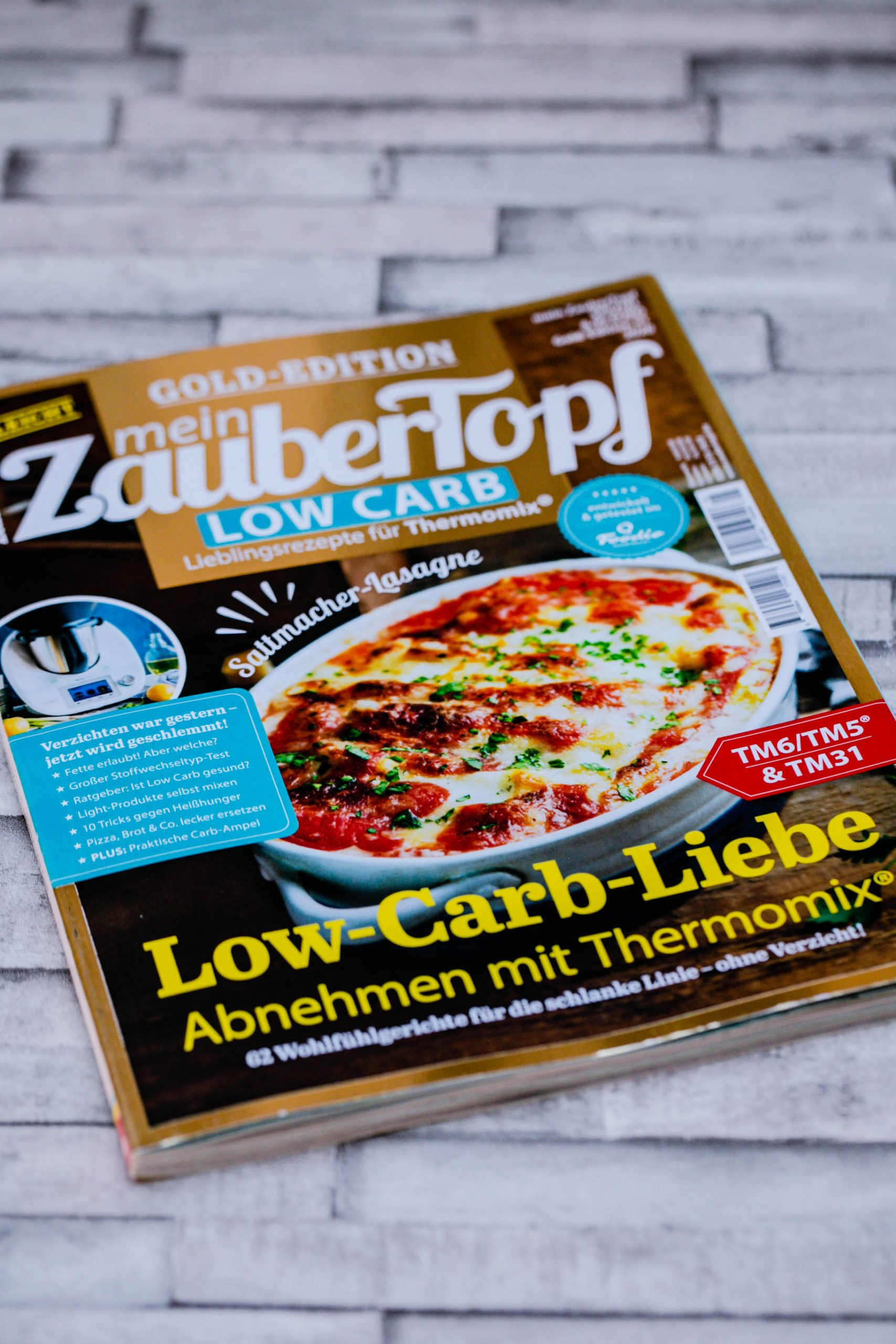 "meinZauberTopf - GoldEdition ""Low Carb"""