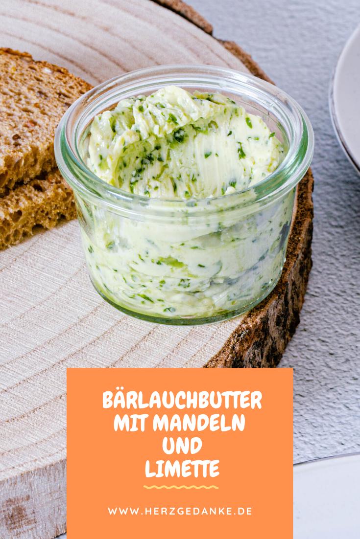 Bärlauch-Butter mit Mandeln und Limette aus dem Thermomix®
