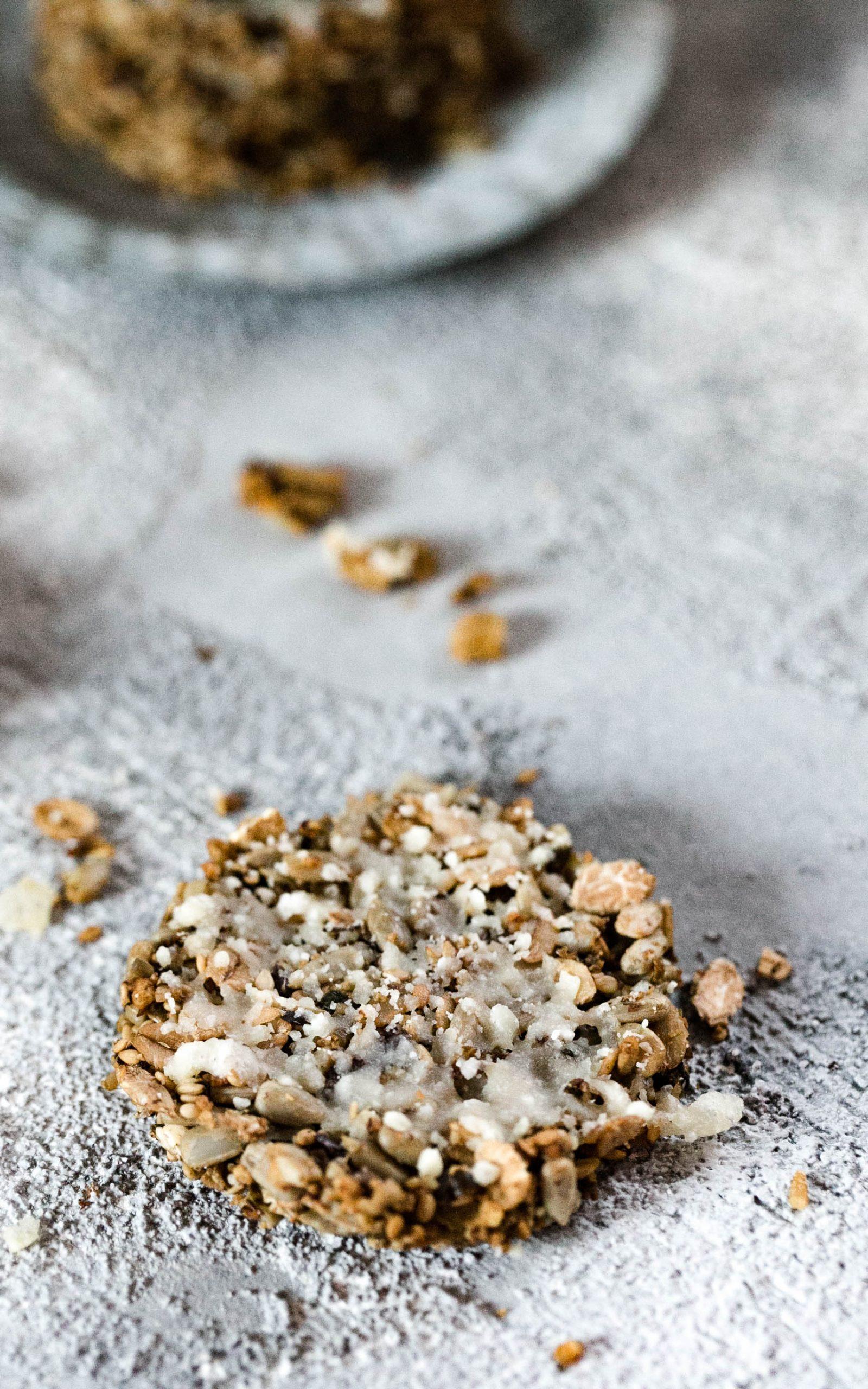 Parmesan-Cracker mit Oliven aus dem Thermomix®