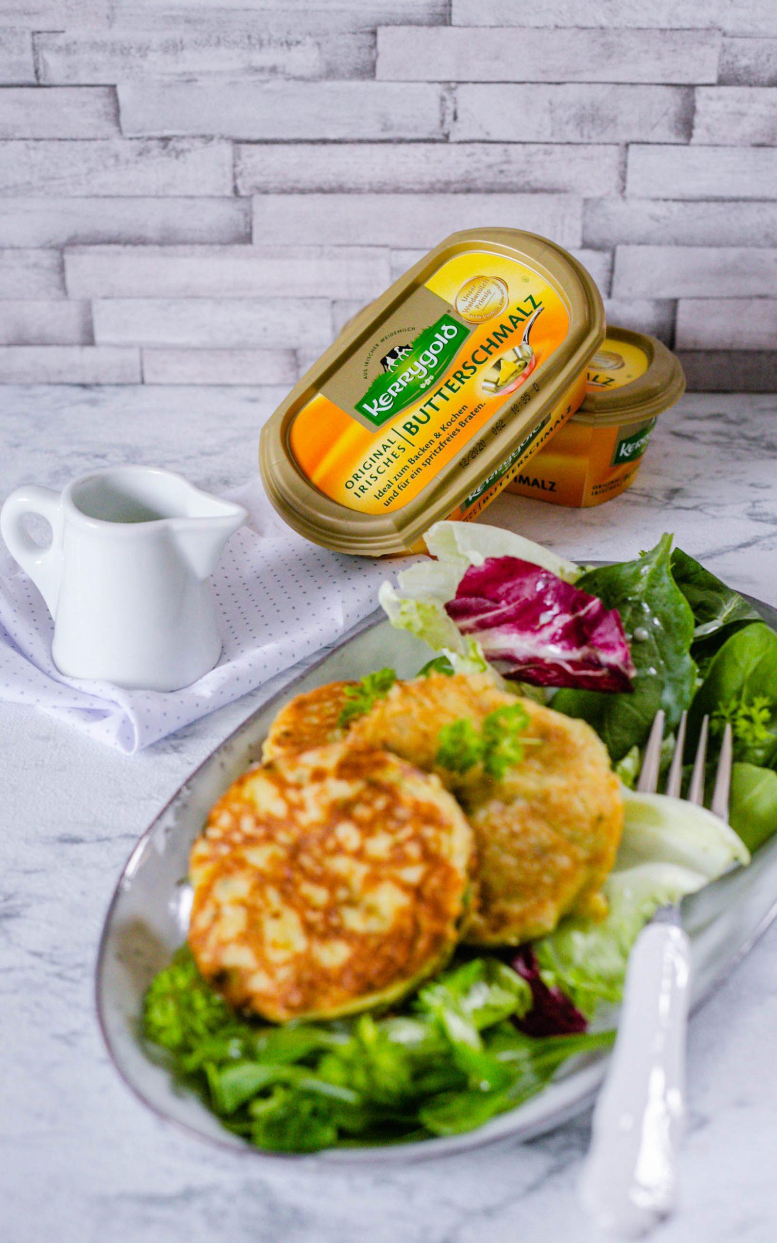 Vegetarische Kartoffel-Kräuter-Frikadellen mit dem Thermomix®