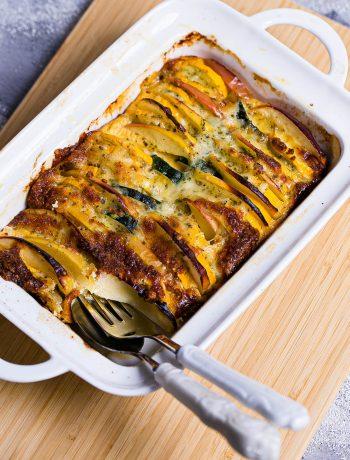 Zucchini-Apfel-Gratin mit dem Thermomix®