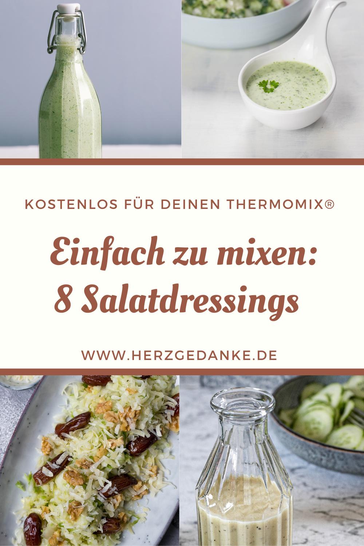 Tolle Salatdressings zum Selbermixen
