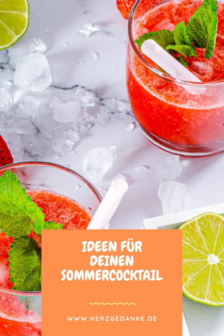 Zutaten und Rezepte für deinen Sommercocktail