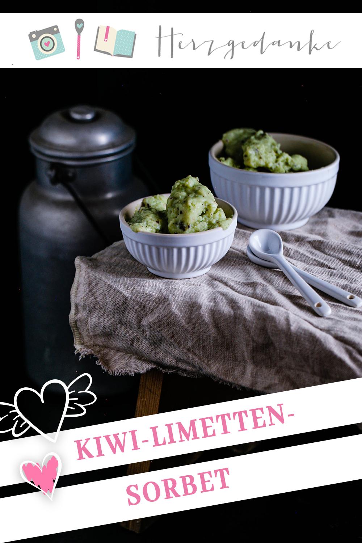 Kiwi-Limetten-Sorbet aus dem Thermomix®