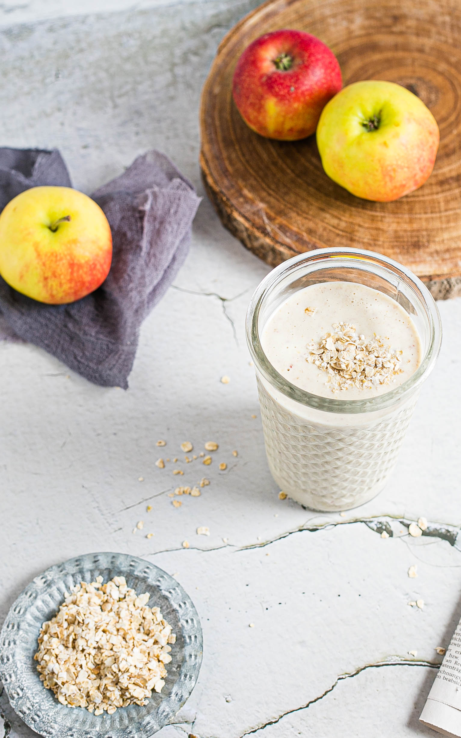 Apfel-Smoothie mit Datteln und Skyr aus dem Thermomix®