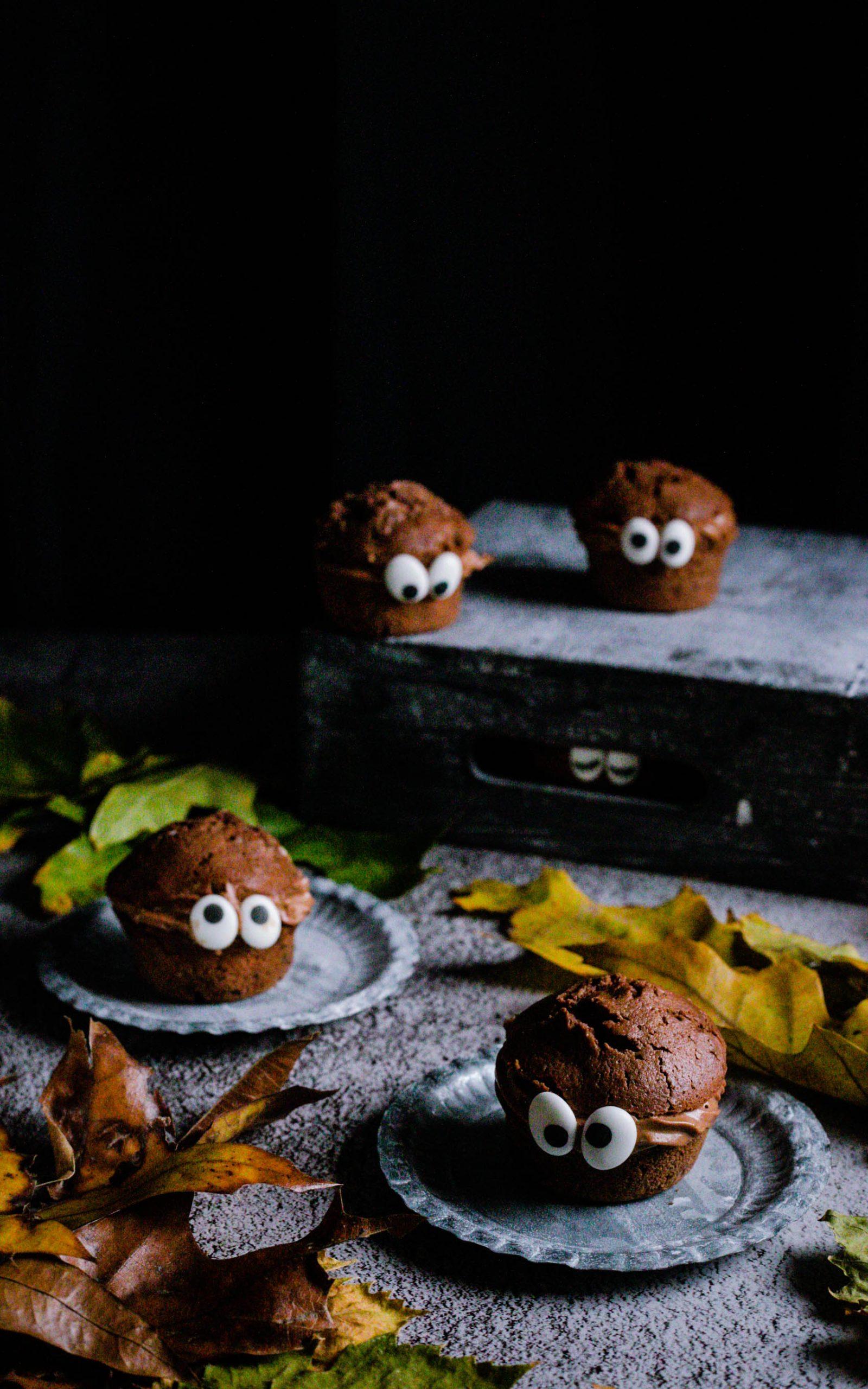 Schoko-Monster für Halloween