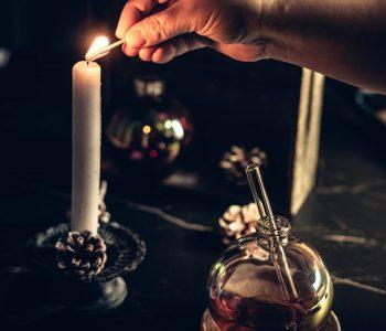 Christmas Sparkle in der Weihnachtskugel