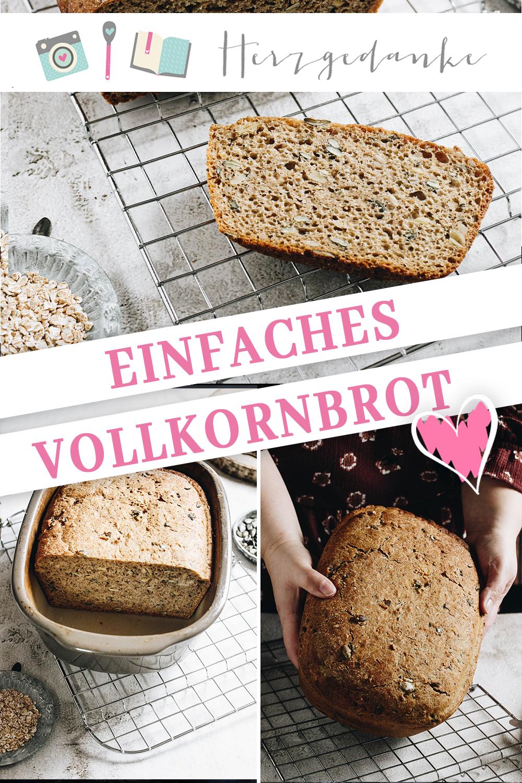 Vollkorn-Brot gebacken im Ofenmeister