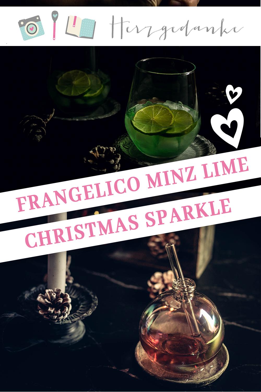 Frangelico Minz Like und Christmas Sparkle in der Weihnachtskugel