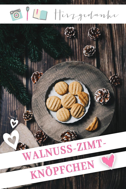 Walnuss-Zimt-Knöpfchen