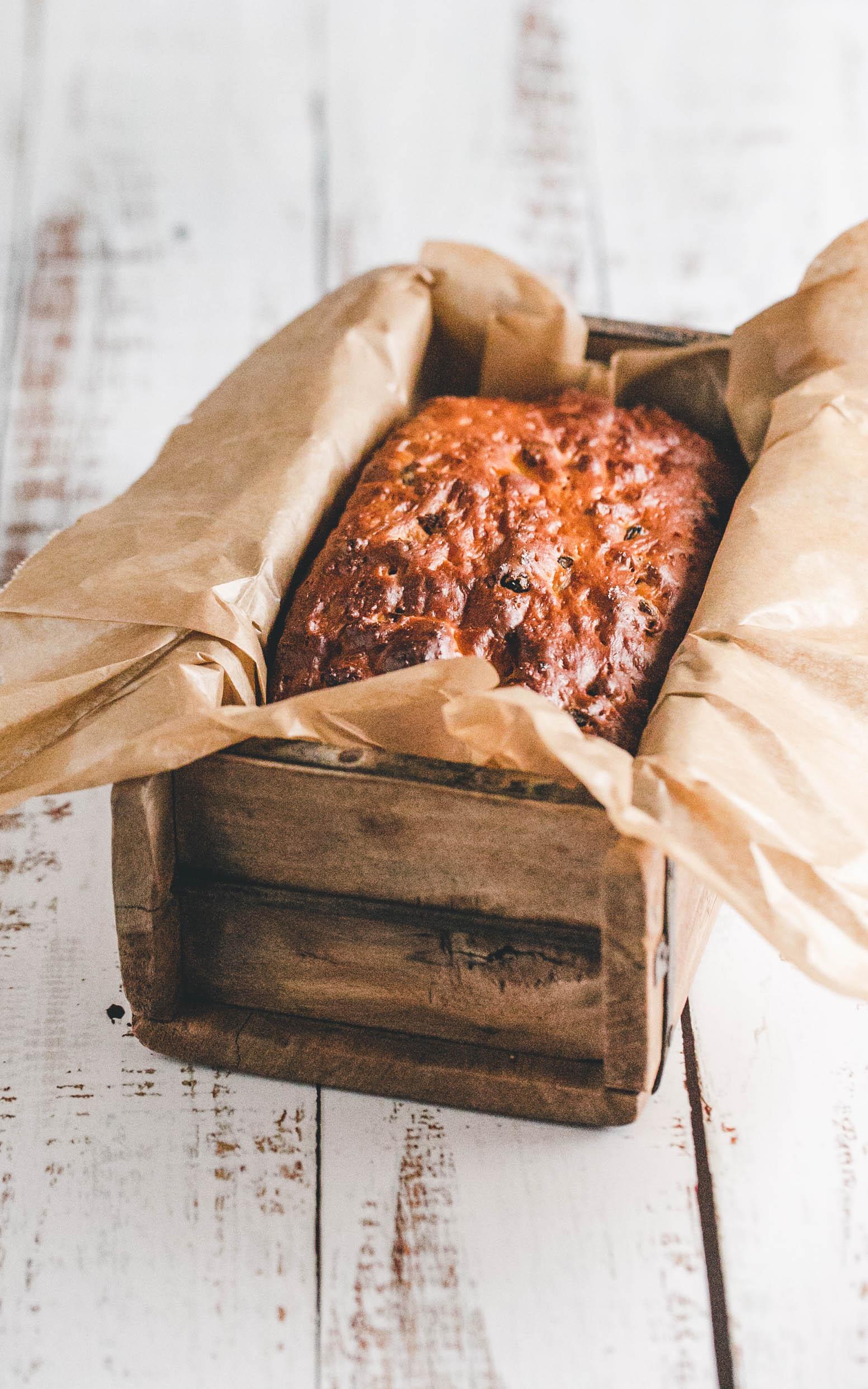Quark-Brot mit Rosinen aus dem Thermomix®