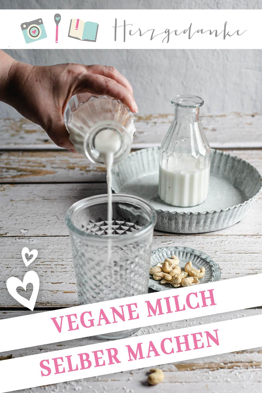 Cashew-Kokos-Milch - Vegane Milch aus dem Thermomix®
