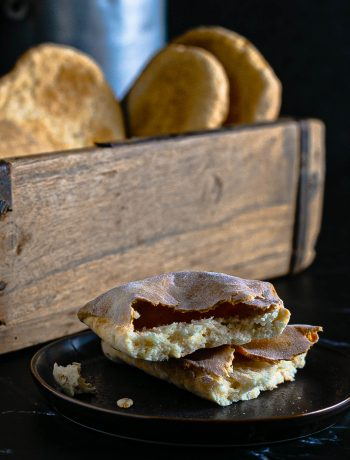 Einfaches Naan Brot ohne Gehzeit