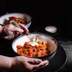 Sojahack Rezept: Paprikatopf mit Kichererbsen