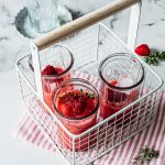 Himbeer Cocktail mit Wodka - Rezept mit und ohne Thermomix®