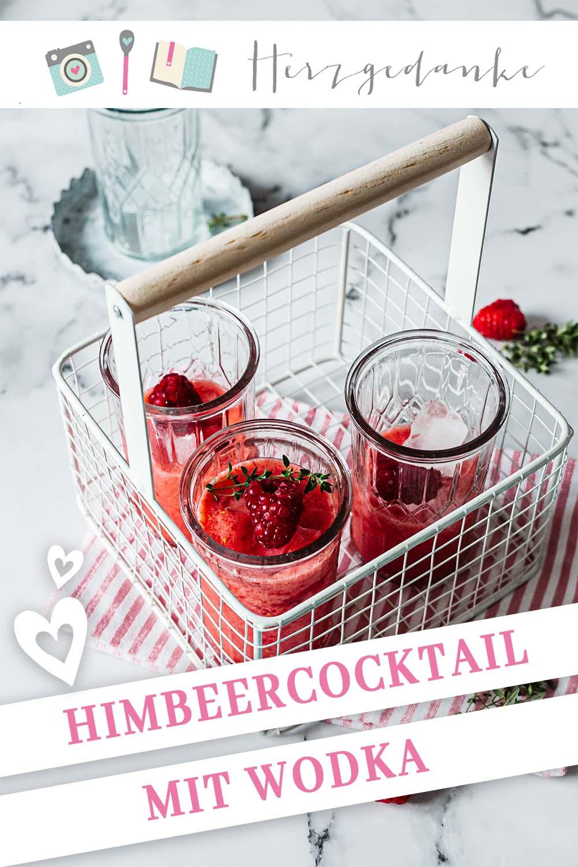 Himbeercocktail mit Wodka - Rezept mit und ohne Thermomix®