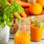 Möhren Smoothie mit Orange aus dem Thermomix®